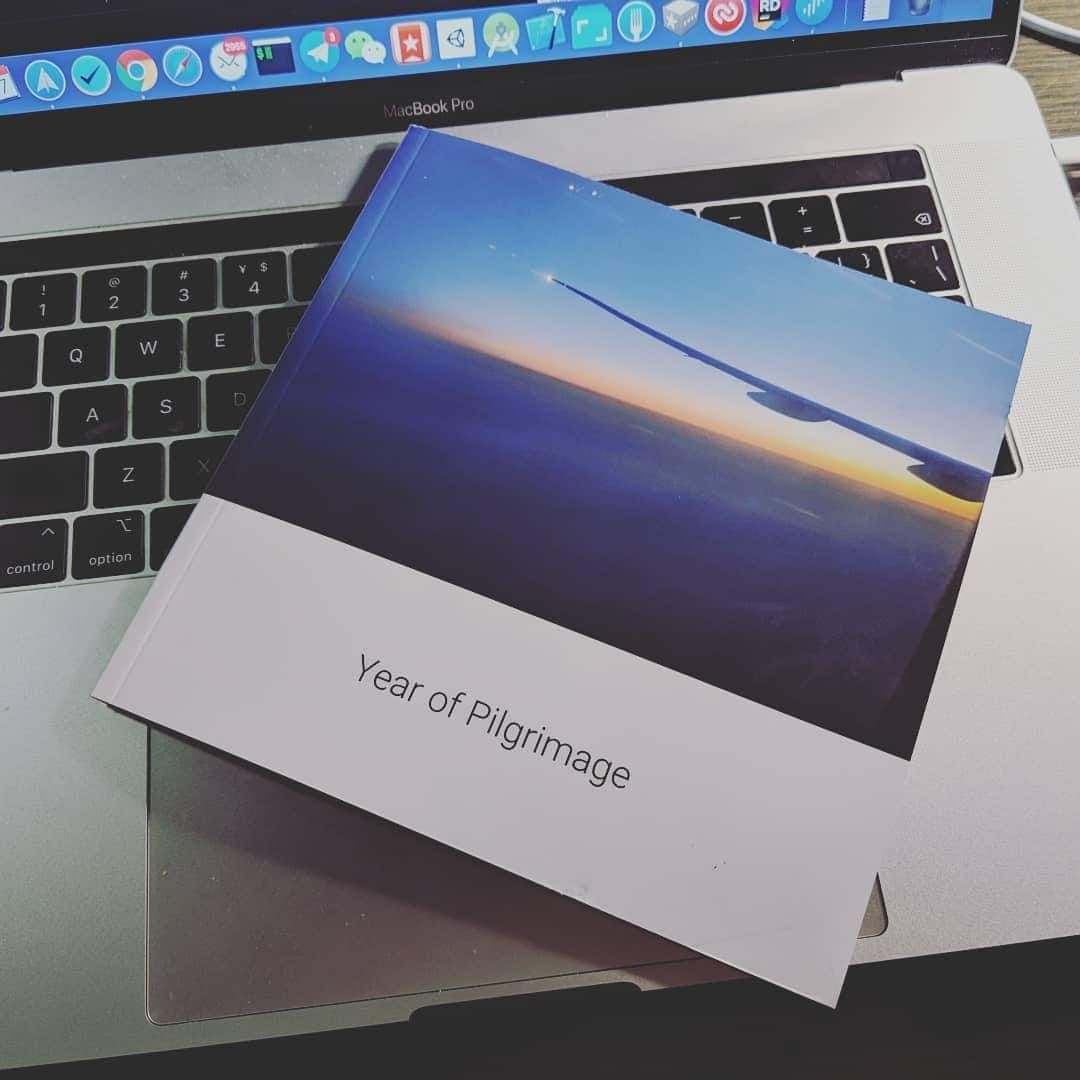 "Google Photo Book ""Year of Pilgrimage"""